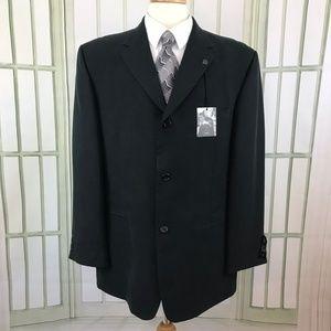 Haggar Black Label Soft Men's 3 Button Suit Jacket